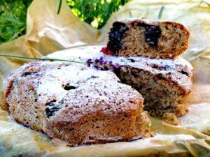 Ciasto bezglutenowe z borówkami z dodatkiem kawy z…